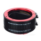 10mm + 16mm AI Auto Focus Macro Extension Tube Set for Sony NEX - Red