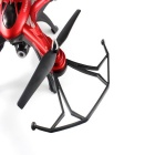 JJRC H25G 6-Eje gyro 5.8G FPV quadcopter w / 2.0MP - rojo