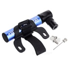 Basecamp BC-751 Mini Portable Tire Pump - Blue + Black