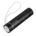 PINDO PD P-M8 Outdoor Mini Portable USB Speaker lanterna FM - Preto