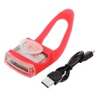 Bicycle Bike Tail / Head Warning Lamp Neutral White / Red Light - Red