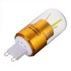 G9 3W 3-COB 300lm LED Bulb Lamp Cold White Light - Golden (AC 85~265V)