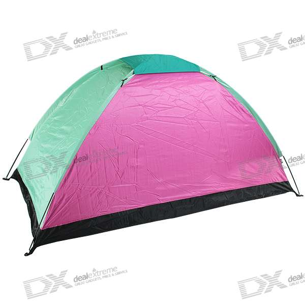 Portable One-Man C&ing Tent (Color Assorted)  sc 1 st  DealeXtreme & Portable One-Man Camping Tent (Color Assorted) - Free Shipping ...