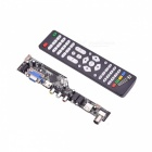 V56 Universal LCD TV Controller Driver Board  - Green + Black