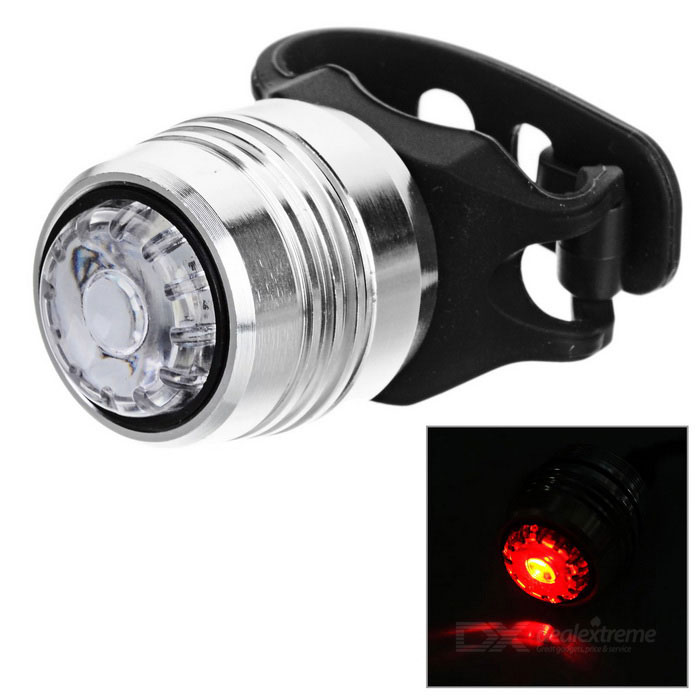 Bicycle Bike 4-Mode Neutral White Light USB Taillight Warning Lamp