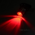 Bicycle Bike 4-Mode Red Light USB Taillight Warning Lamp - Silver