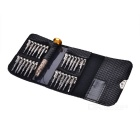 25-in-1 Screwdriver Dismantling Tool Set - Silver + Gun Color