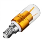 E14 3W 3-COB LED Lamp Bulb luz morna Branco - Golden (AC 85 ~ 265V)