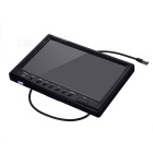 "9"" 800*480 HD Car Display Reversing Monitor 2-AV Input - Black"
