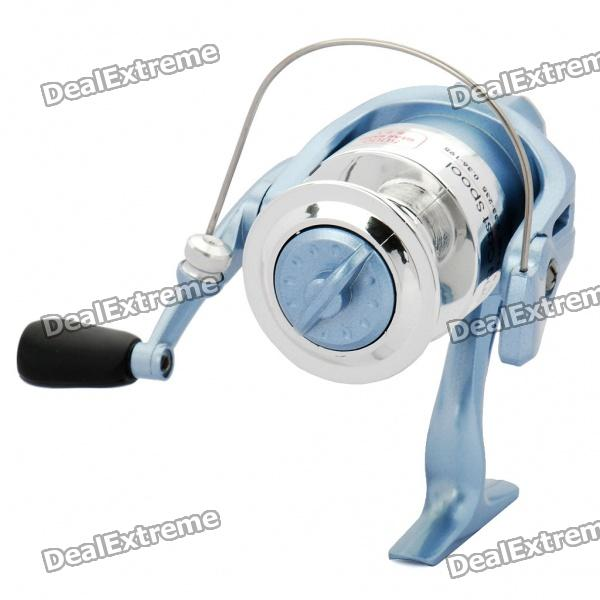 Sensitive Plastic Spinning Fishing Reel (Blue)