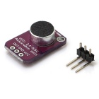 Electret Microphone Amplifier - MAX4466 with Adjustable Gain - Purple