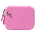 """Multifunctional Canvas Storage Bag for 8"""" Tablet PC + More -Pink"""