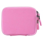 "Multifunctional Canvas Storage Bag for 8"" Tablet PC + More - Pink"