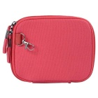 """Multi-Function Canvas Storage Bag for 8"""" Tablet PC + More -Deep Pink"""