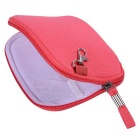 "Multi-Function Canvas Storage Bag for 8"" Tablet PC + More - Deep Pink"