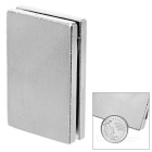 60 * 40 * 5mm Rektangulär Rare Earth Permanent NdFeB Magnet - Silver (2PCS)