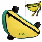 Large Capacity Outdoor Cycling Riding Triangular Bicycle Pack Pouch (1.5L)