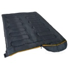 Wind Tour Envelope Shape Outdoor Camping Sleeping Bag - Grey + Orange
