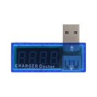 Mini USB Charger Doctor / Mobile Battery Tester - Blue