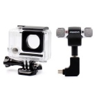 High Quality Light Weight 3.5mm Plug Mini Stereo Microphone with Side shell for GoPro 3/3+/4