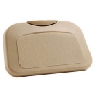 ZIQIAO Car Multi-Functional Travel Dining Tray Beverage Holder - Beige