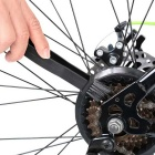 Chain Cleaner Brush for Bike Motorcycle Chain Wheel Flywheel - Black