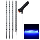 ExdED 10W 12V LED DIY Auto Innendekoration Lampe blaues Licht