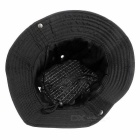 Outdoor Casual Foldable Boonie Hat - Black