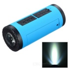 PINDO PD P-X6 Bike Bluetooth Speaker & Power Bank - Blue + Black