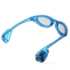 LED Light Glowing Eyeglasses Holiday Gift - Transparent Blue