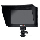 "Viltrox 7 ""LCD HD monitor HDMI in ingresso AV per DSLR, Video - Nero"
