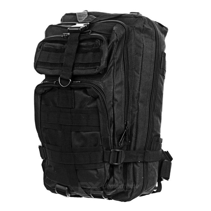 CTSmart BL008 Outdoor Internal Frame Backpack - Black (30L)