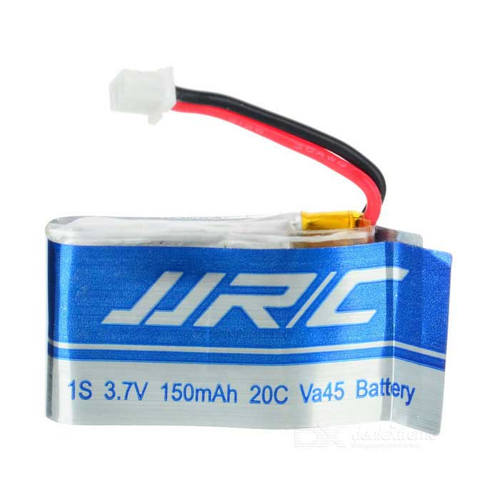 Replacement 3.7V 150mAh Battery for JJRC H30C - Silver + Blue