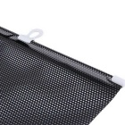 ZIQIAO Universal  Window Sunshade Kit - Black (58*125cm)