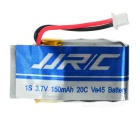 JJRC 150mAh Baterías + Adaptador USB + cable de carga Set - Blue