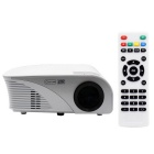 Portable 1080P HD LED Projetor LCD Home Theater com HDMI - Branco