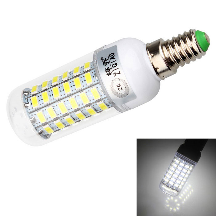 ZIQIAO YM5769B E14 7W LED Cold White Light Corn Bulb Spotlight