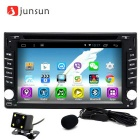 "Junsun 2 DIN 6.2"" Car DVD Player Radio GPS + Rearview - Black"