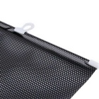 ZIQIAO Universal Window Sunshade Kit - Black (40 * 60cm)