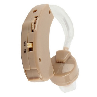 Hearing Aid Behind The Ear Sound Amplifier Adjustable - Fleshcolor