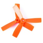 4045 3-Blade CCW & CW Propellers Set for QAV250 - Orange (2 Sets)