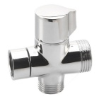 "G1/2"" Bathroom Angle Valve for Shower Head Water Separator - Silver"