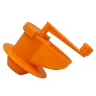 Multi-purpose de alho amassados ​​Machine / Garlic Press - Orange
