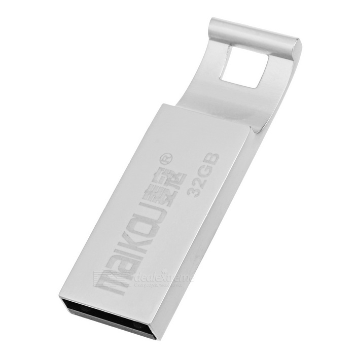 MAIKOU Portable High Speed ​​USB 2.0 Flash Drive - Prata (32GB)