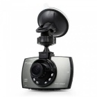 "G30 2.7"" LCD Screen 96220 Chipset HD Car DVR Camera - Black"