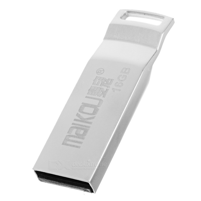 MAIKOU Portable High Speed USB 2.0 Flash Drive - Silver (16GB)