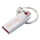 MAIKOU High Speed USB 2.0 Flash Drive w/ Key Ring - Silver (64GB)