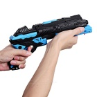 BB Gun Pistol Pellets Water Crystal Bullets Airsoft - Black + Blue