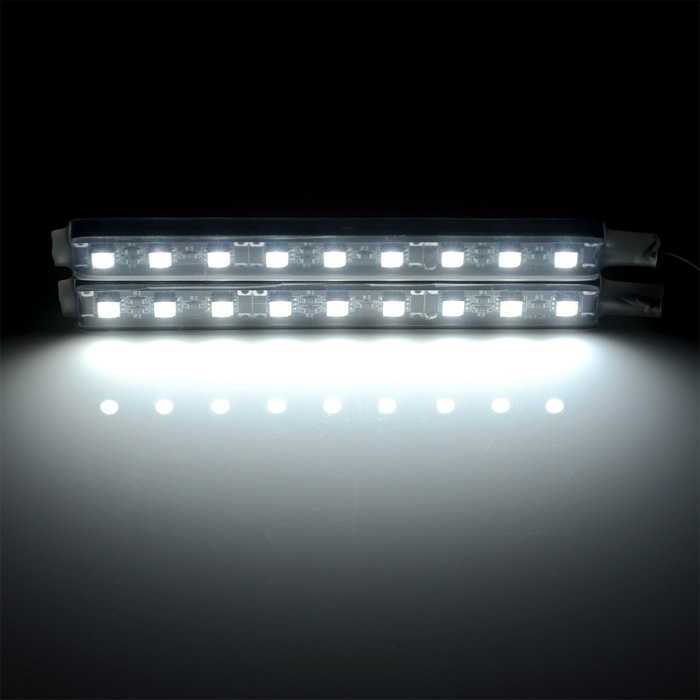 exled 10w 200lm 18 led car decorative light interior light cool white free shipping dealextreme. Black Bedroom Furniture Sets. Home Design Ideas