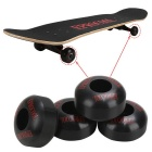 Rodas do skate de EPROCOOL EC-W5231DR 52 * 31mm - preto (4PCS)